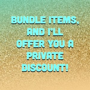 Other - Bundle & Save! No obligation to buy!